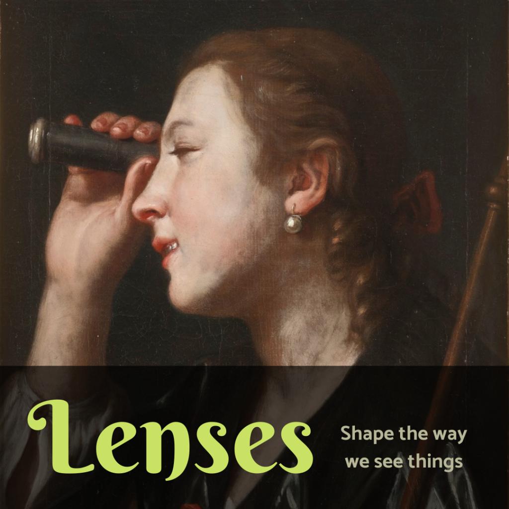 Illustration - Contextual Lenses for Literature